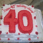 40th in Red