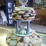 Anniversary Cookie Tray Cake