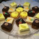 Brownies, Carrot Cakes, Lemon Cakes, Pineapple Tarts