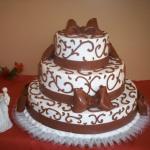 Chocolate Fondant Bows