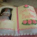 Communion Bible Cake 1