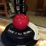 Kettle Bell Groom Cake