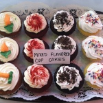 Mixed Flavored Cupcakes