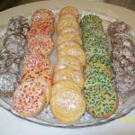 Mixed Macaroon Cookies