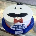 Mr. Man Birthday Cake
