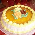 Pineapple and Custard Cake