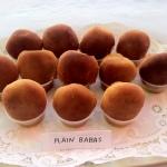 Plain Rum Babas