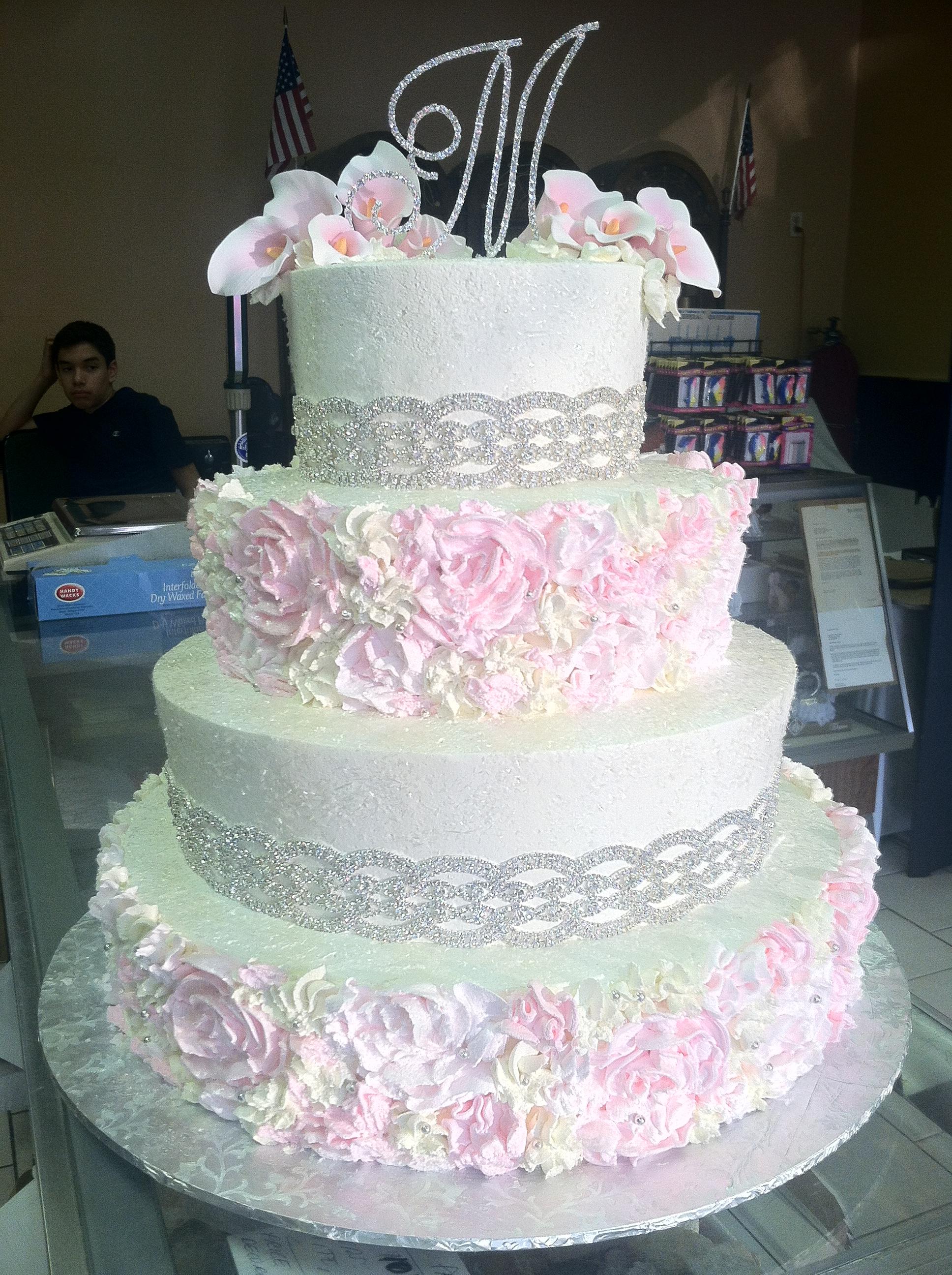 Rosette Birthday Cake Images