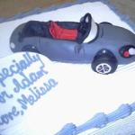 Sports Car Groom Cake