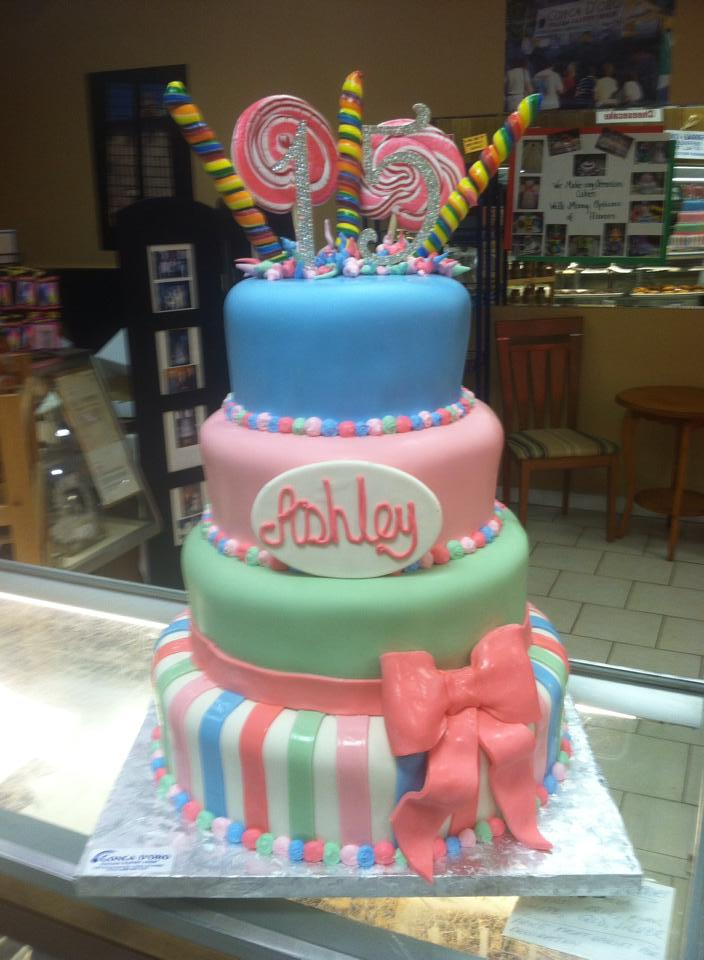 Pictures Of A Cake Shop