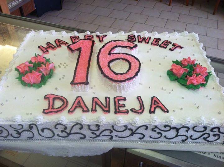 Birthday Cakes Conca D Oro Italian Pastry Shop