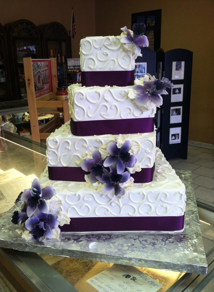 Plum Wedding Cakes Pinterest